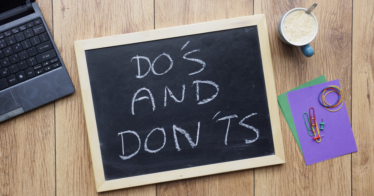 Do's and Don'ts When Writing Autobiography